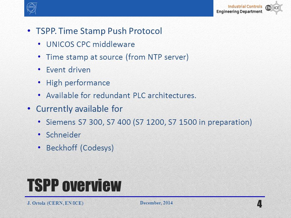 Time Stamping and archiving of PLC data - ppt video online download