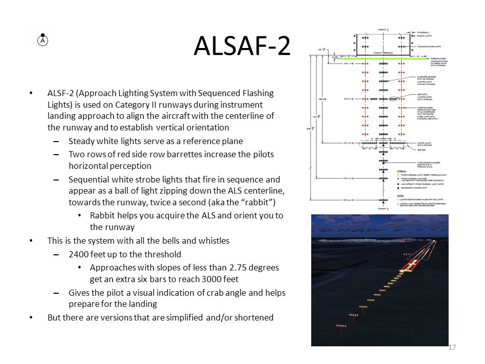 Approach Lighting  - ppt video online download