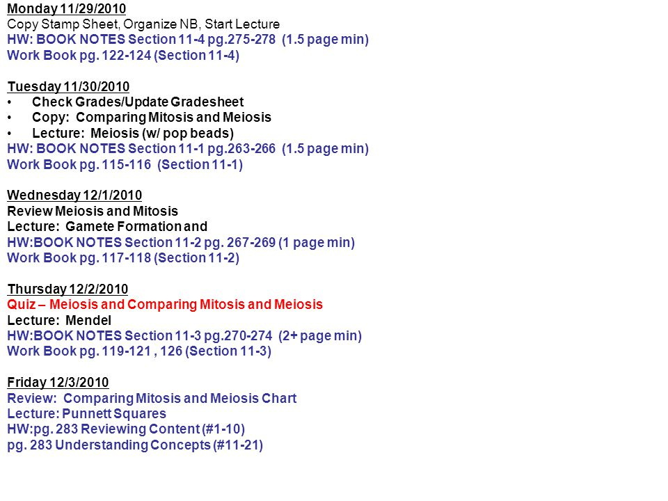 Cornell NOTES Section 11-1 pg - ppt download