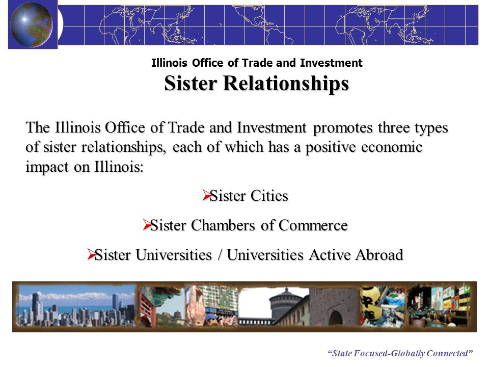 Illinois Office of Trade and Investment Sister Relationships