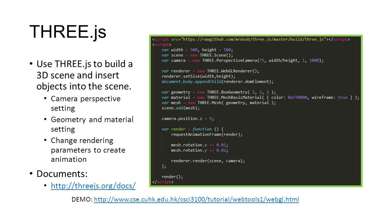 CSCI 3100 Tutorial 8 Web Development Tools 1 - ppt video