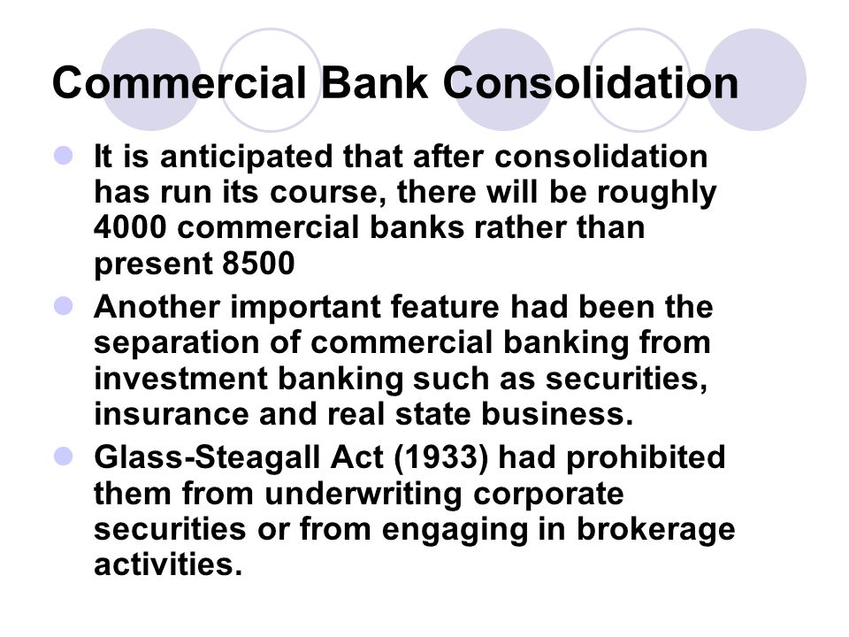 the banking consolidation directive essay Regulatory changes in the form of the eu's second banking coordination directive of 1993 and later amendments, as well as the gramm-leach-bliley act in the us (1999), also helped push forward the integration of the financial services industry, resulting in an increasing amount of cross-industry transactions (deals involving companies of.