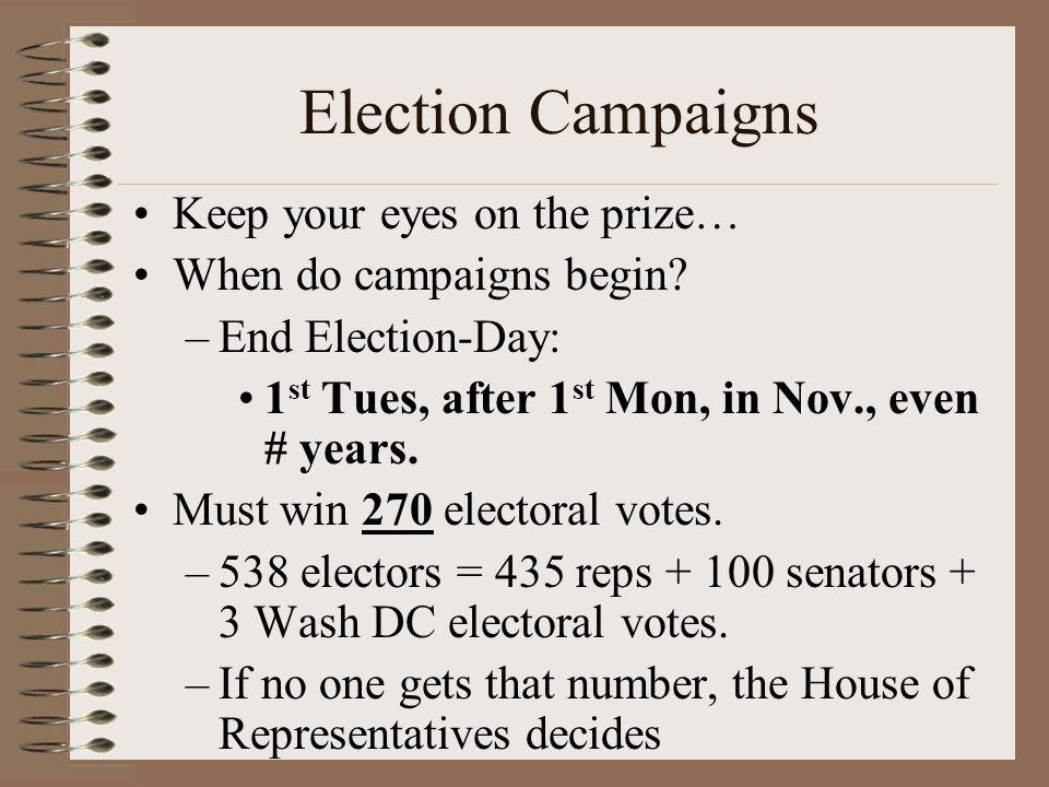 Election Unit! Political Behavior: Political Parties ...