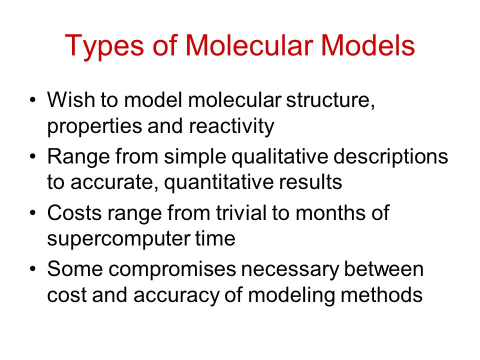 Computational Chemistry and Molecular Modeling MidTerm