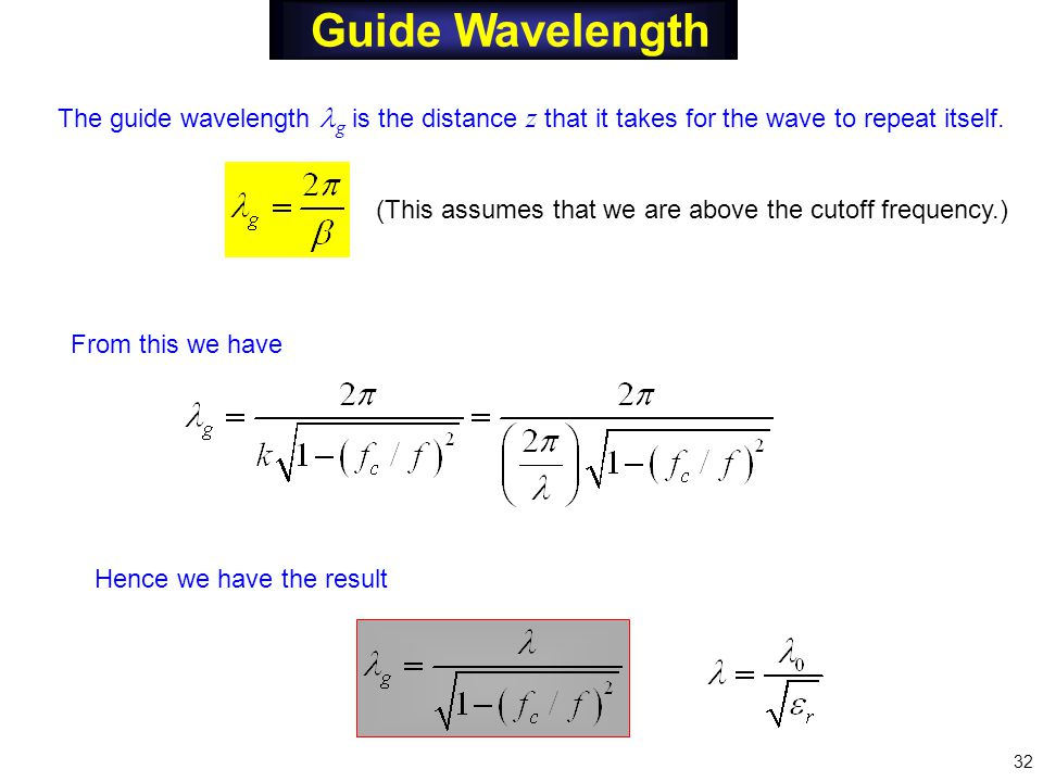 Rectangular waveguides ppt video online download.