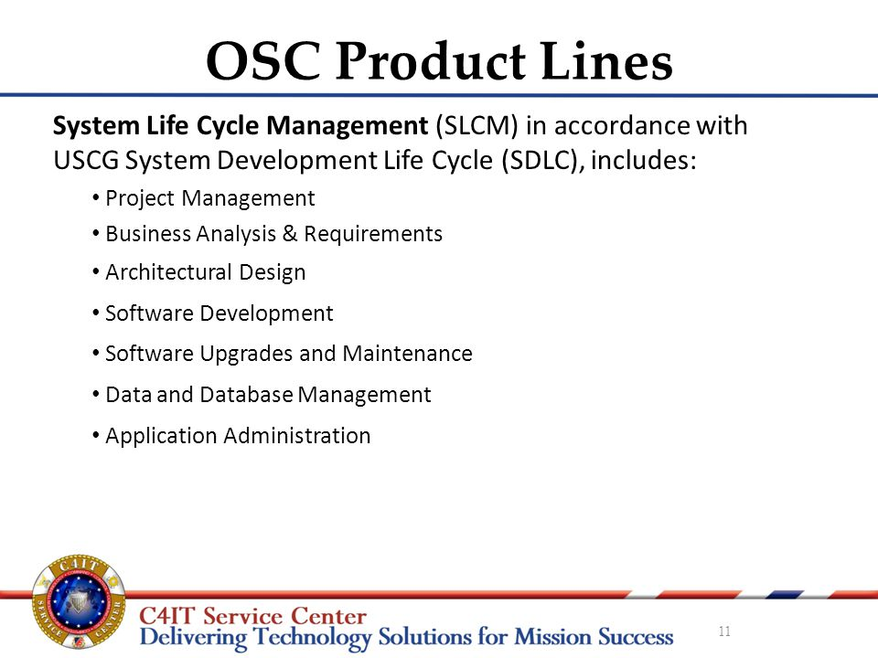 Operations Systems Center (OSC) - ppt video online download