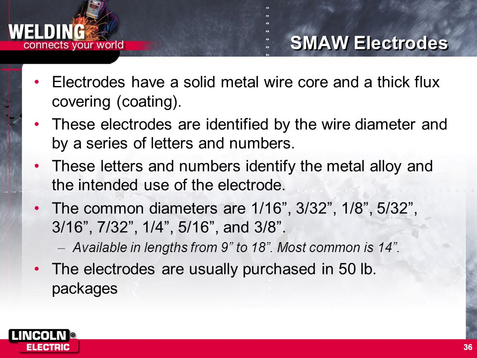 SMAW (Stick Welding) Chapter 5 - ppt download