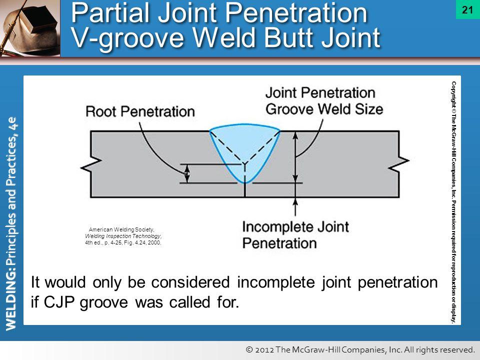 Me weld penetration