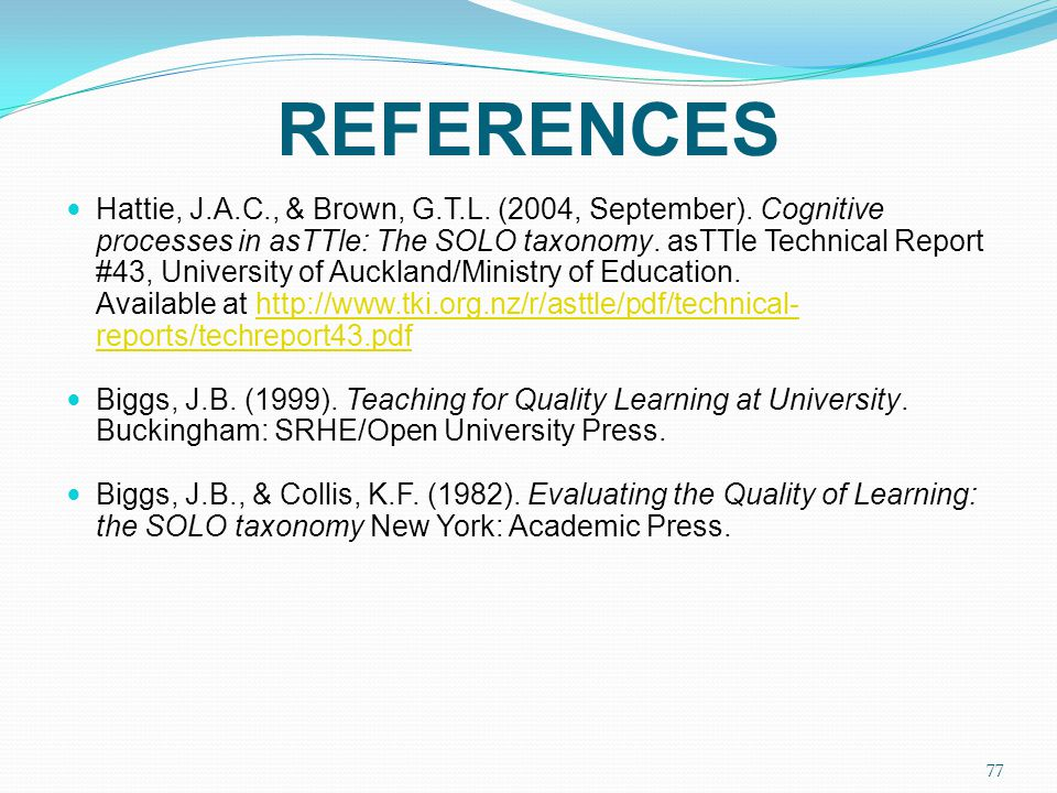 Teaching For Quality Learning At University Pdf