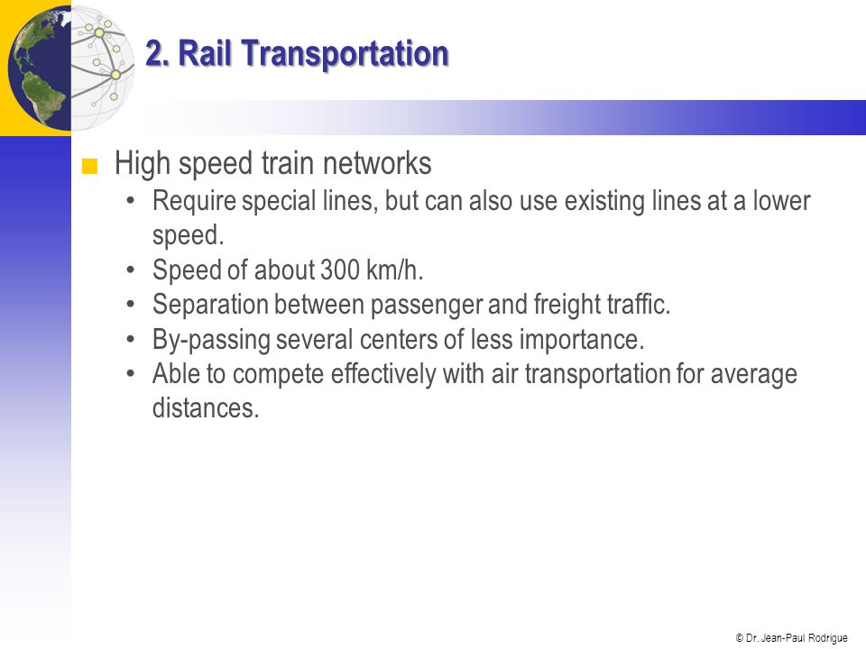 Topic 3 – Transportation Modes - ppt video online download