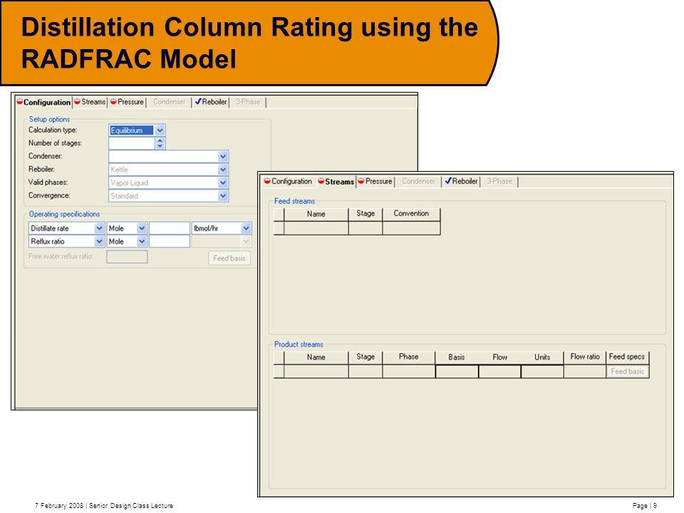 Advanced Distillation Column Modelling And Reactive Distillation Ppt Video Online Download