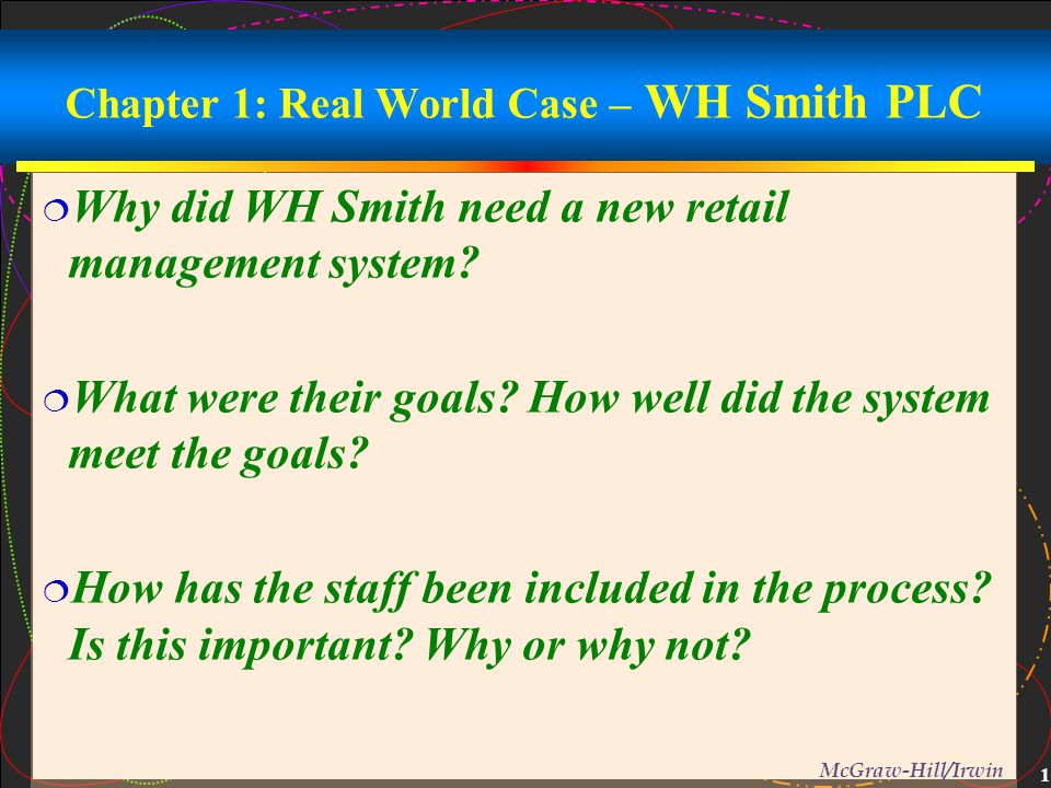 analysis of woolworths plc and whsmith The following analysis known as the pestel analysis is a framework used to scan the organization's external macro environment which refers to forces that are part of the larger society and affect the micro environment selling and marketing goods in the global market intensifies these issues and creates a larger challenge for marketing managers.