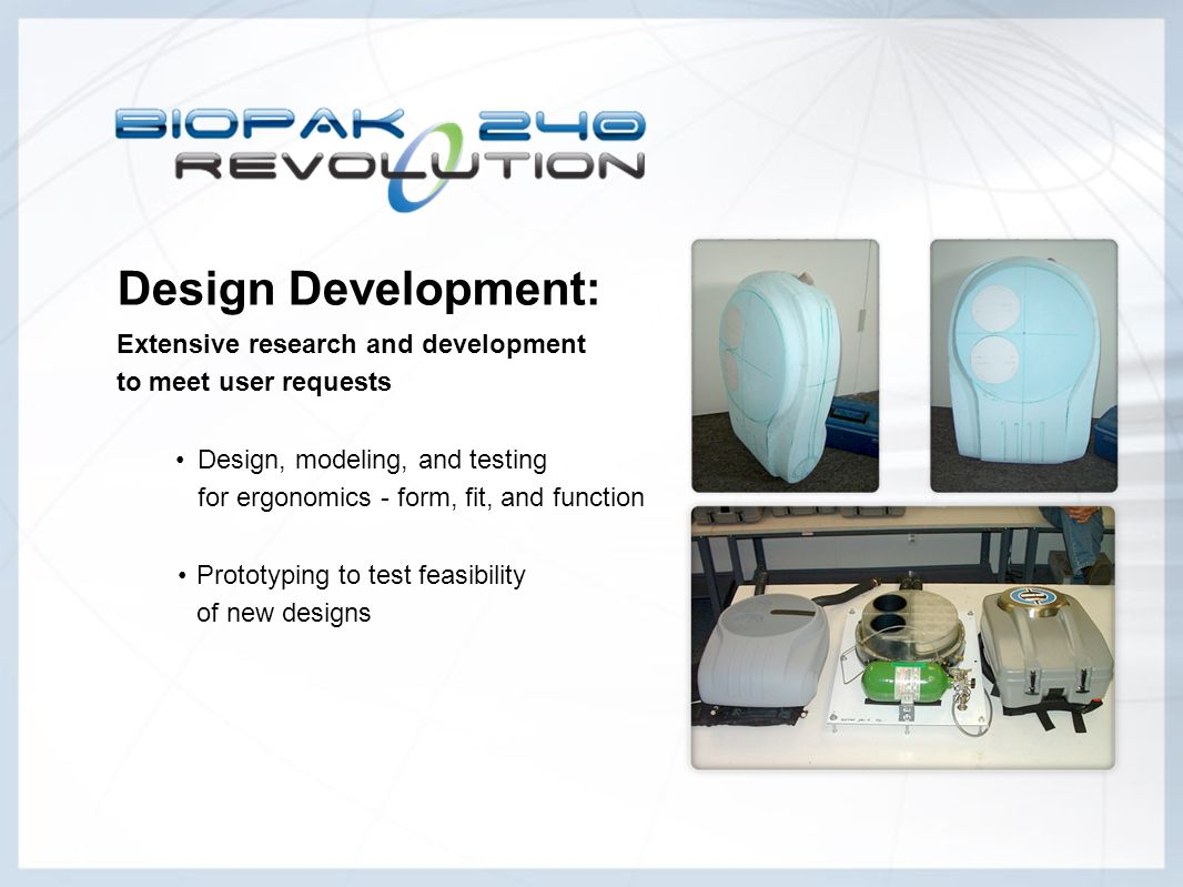 Design Development: Extensive research and development to meet user requests.