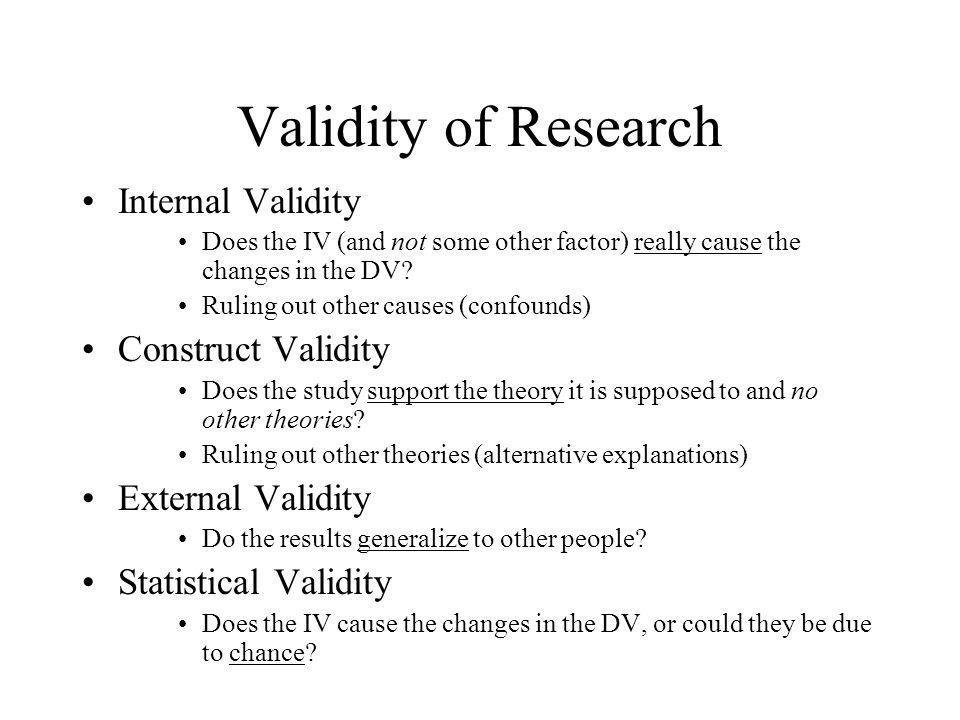 Validity (statistics) - Wikipedia