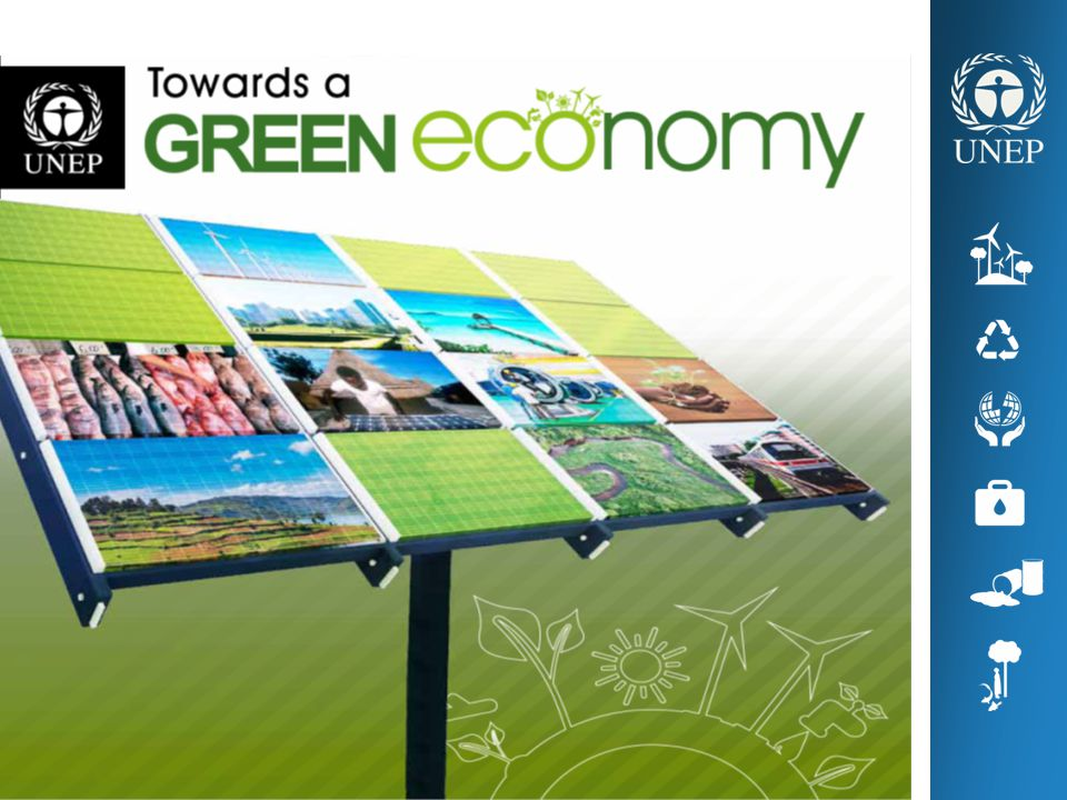 UNEP's flagship publication, Towards A Green Economy: Pathways to Sustainable Development and Poverty Alleviation, is the result of two year's work, involving about 500 people from several UN agencies and numerous institutions from around the globe.