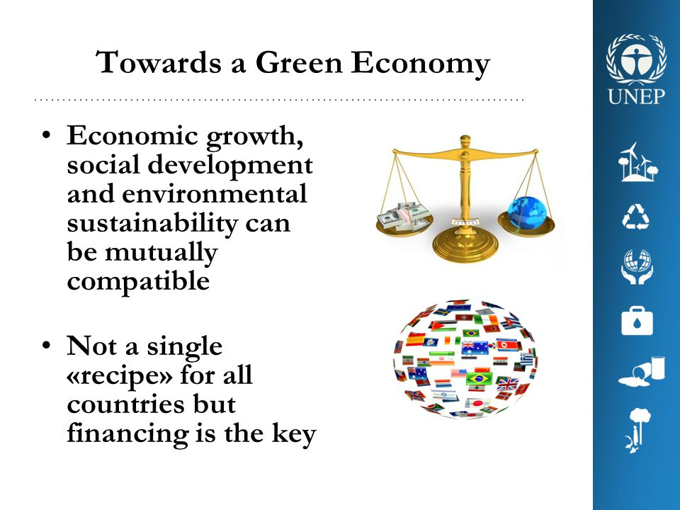 Towards a Green Economy