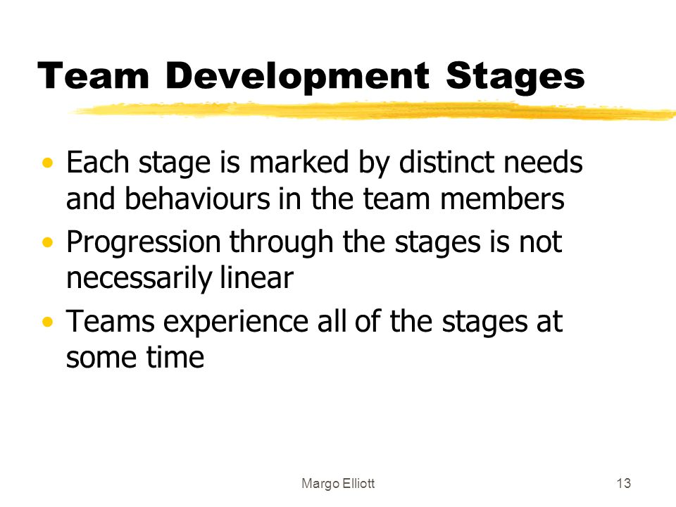 Team Development Stages