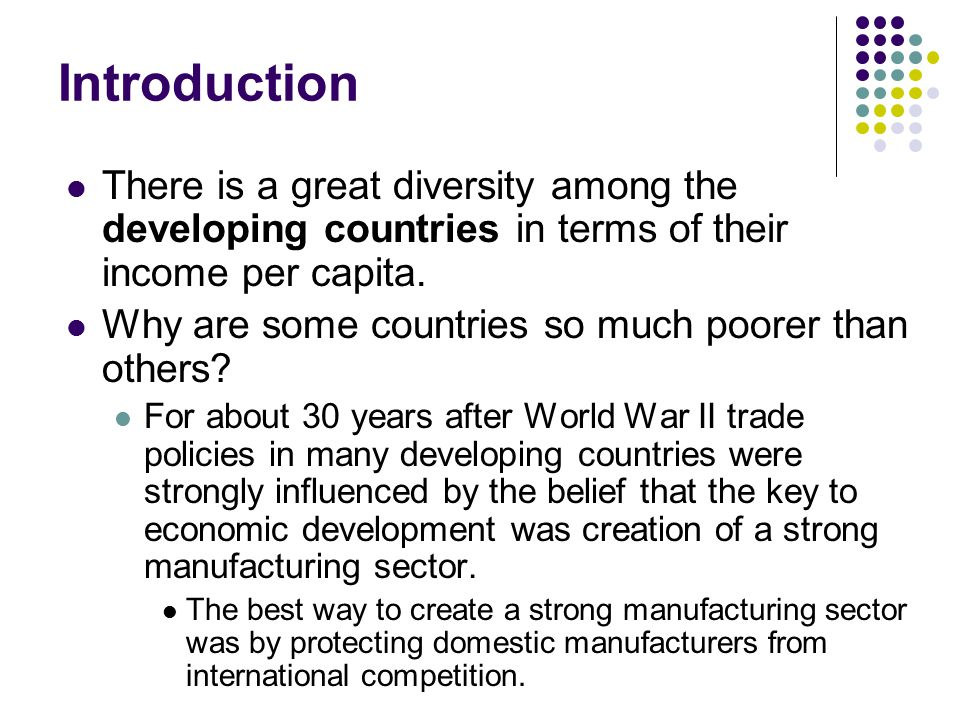 import substitution industries