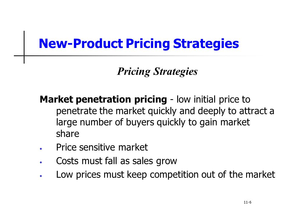 Penetration pricing definition photo 326
