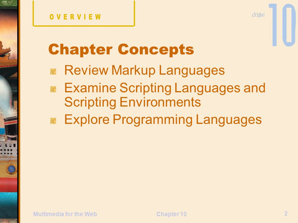 Chapter Concepts Review Markup Languages
