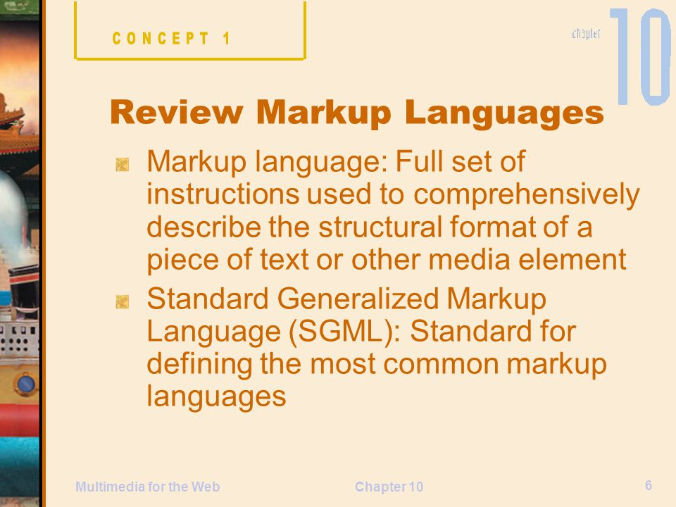Review Markup Languages