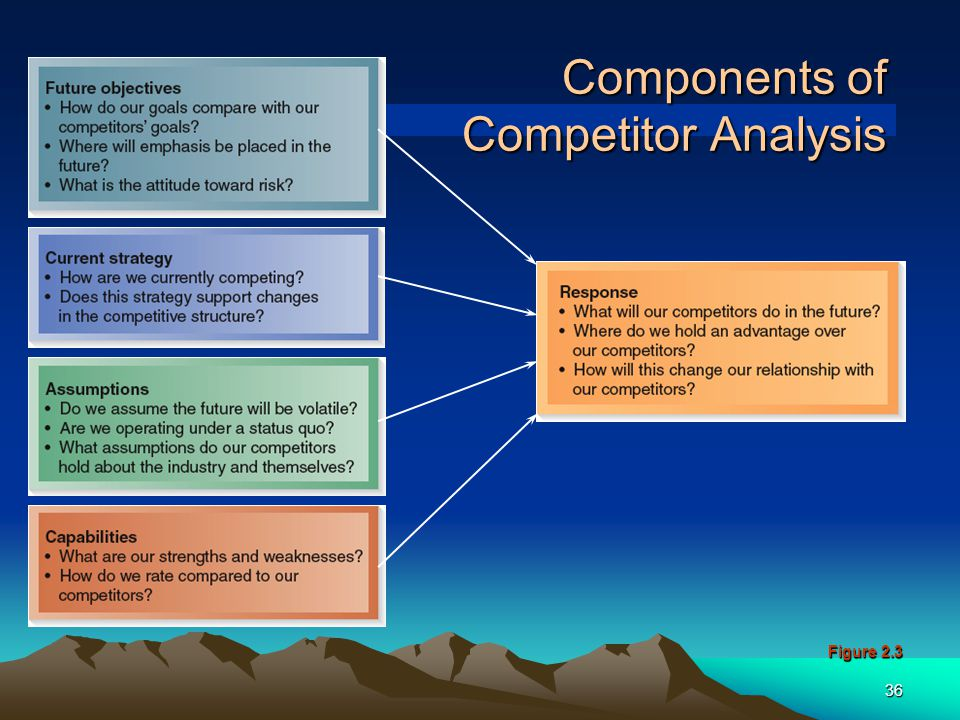 Components of Competitor Analysis