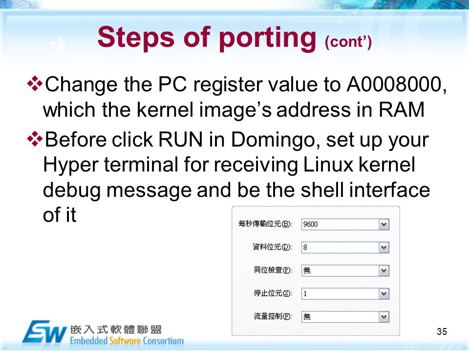 Linux OS Porting on Create XScale-PXA ppt video online download