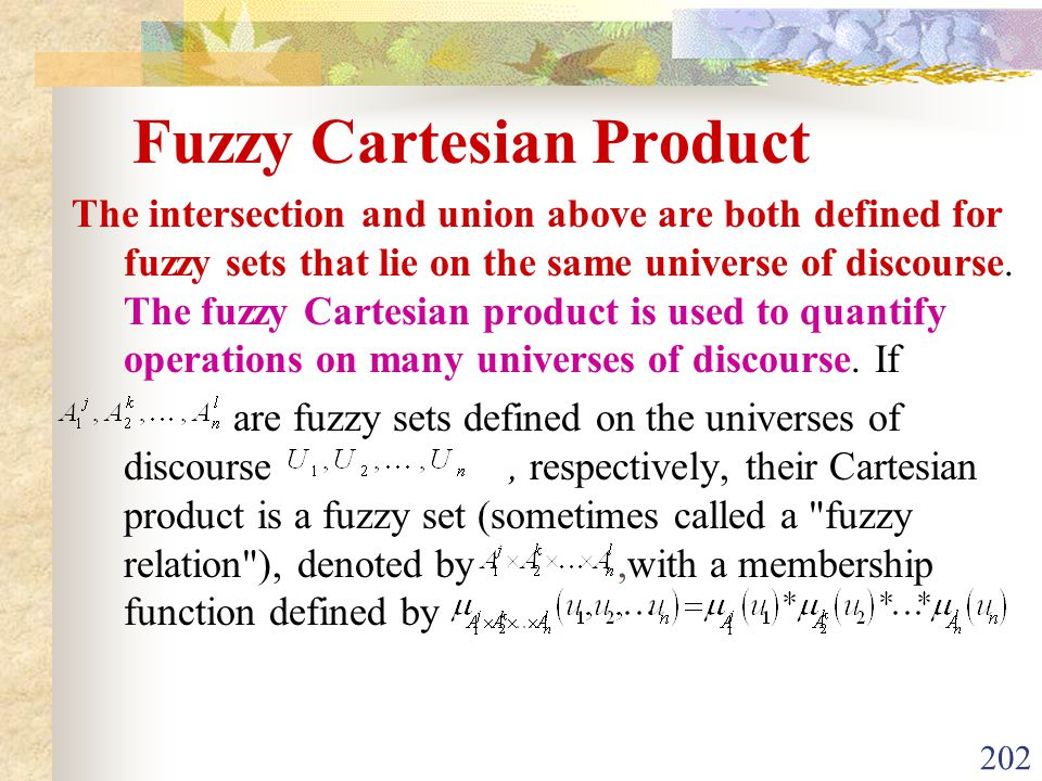Fuzzy Cartesian Product