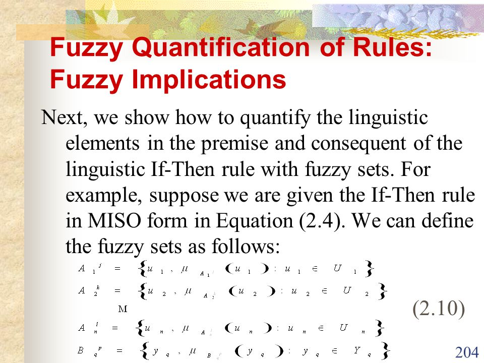 Fuzzy Quantification of Rules: Fuzzy Implications