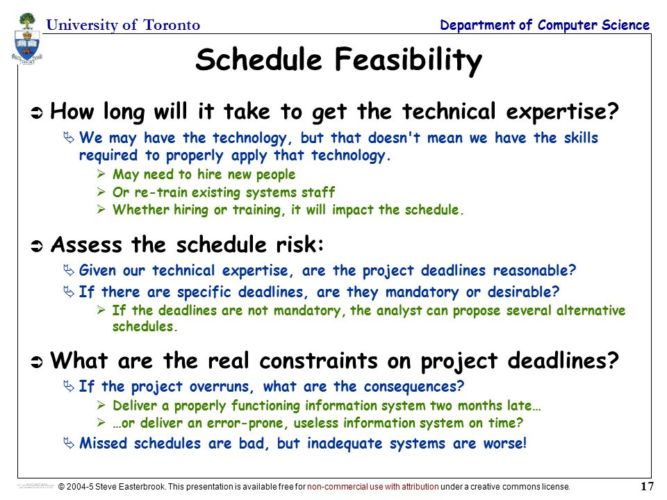 technical feasibility study of a project pdf
