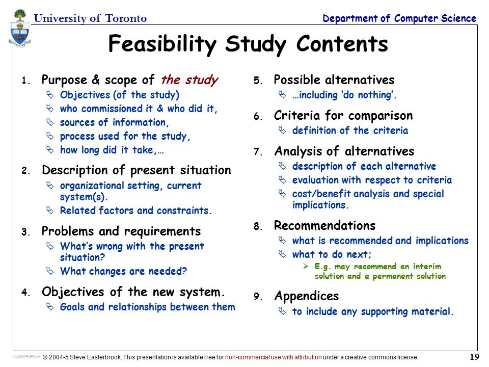 Feasibility study definition and meaning - Collins Dictionary