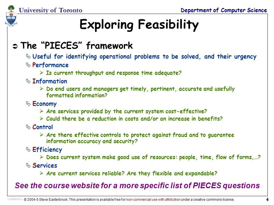 Lecture 7: the Feasibility Study - ppt video online download