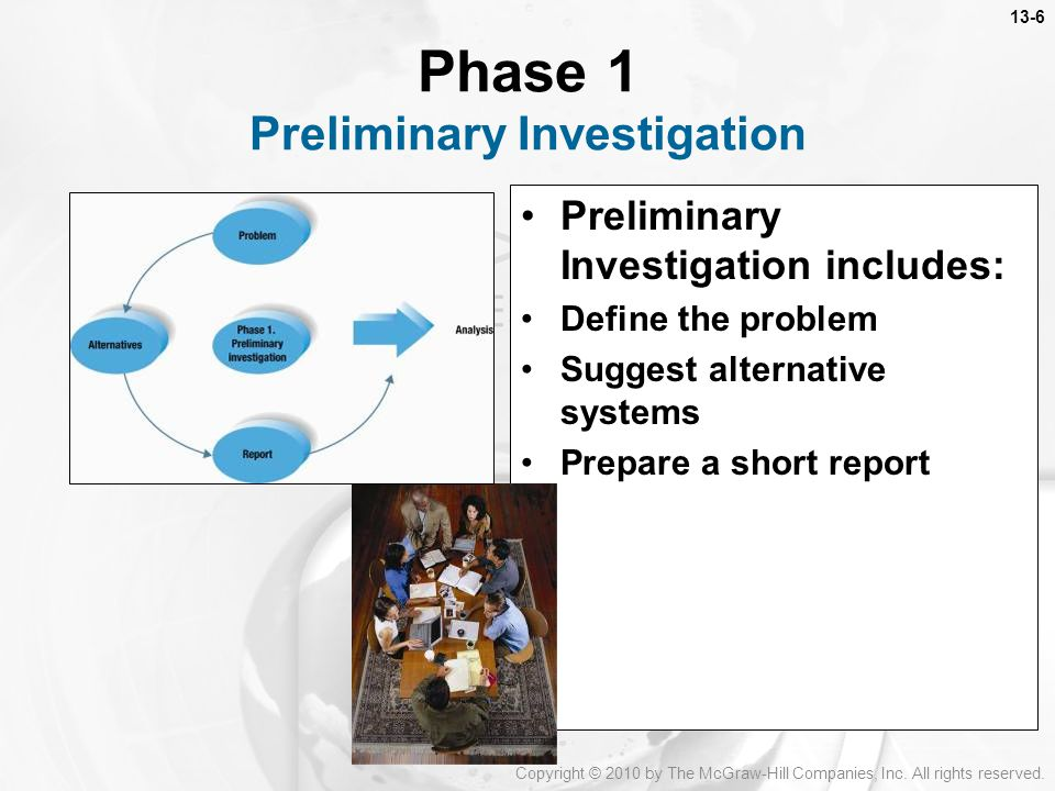 Phase 1 Preliminary Investigation