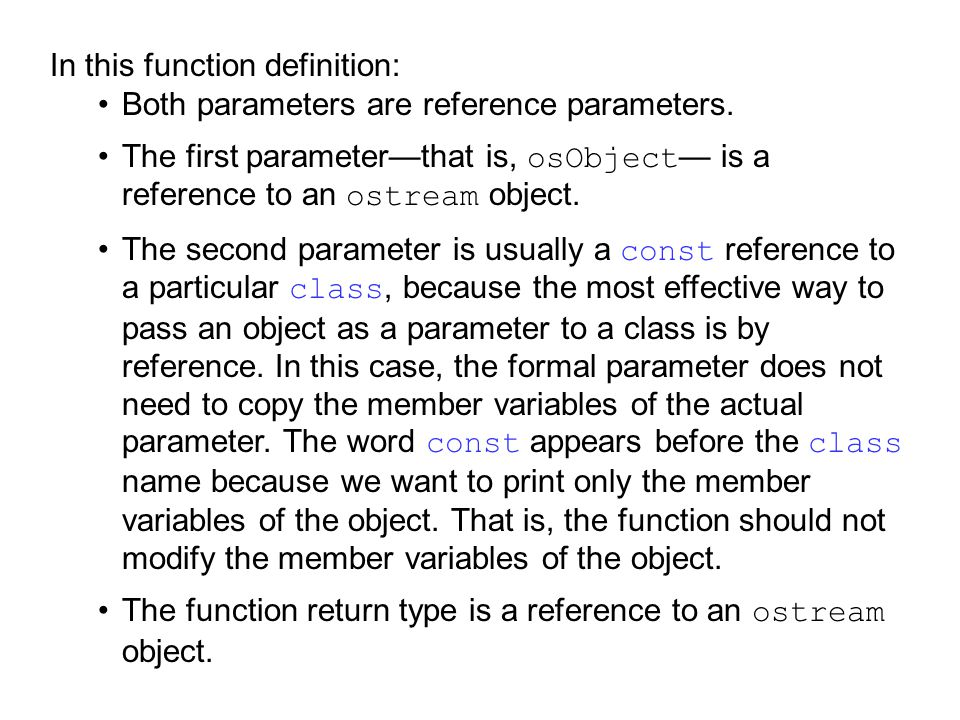 In this function definition: