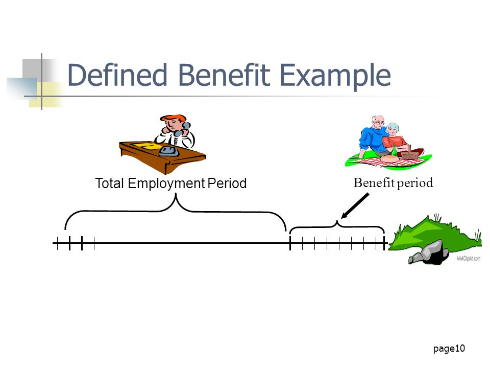 Defined Benefit Example