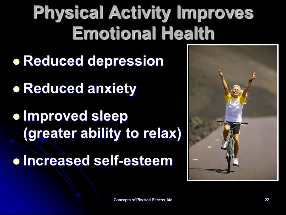 Physical Activity Improves Emotional Health