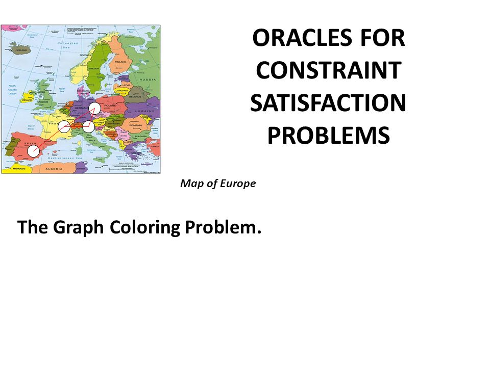 ORACLES FOR CONSTRAINT SATISFACTION PROBLEMS