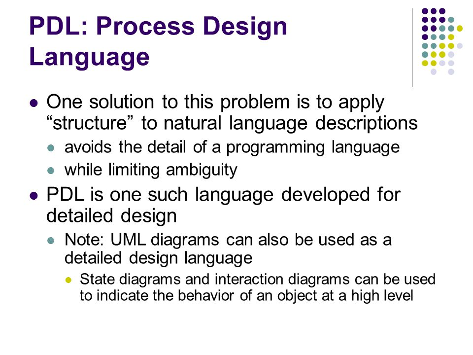 Detailed Design Kenneth M Anderson Lecture Ppt Download