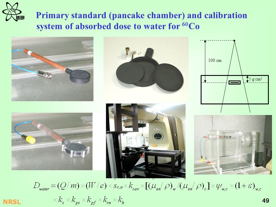 Primary standard (pancake chamber) and calibration system of absorbed dose to water for 60Co
