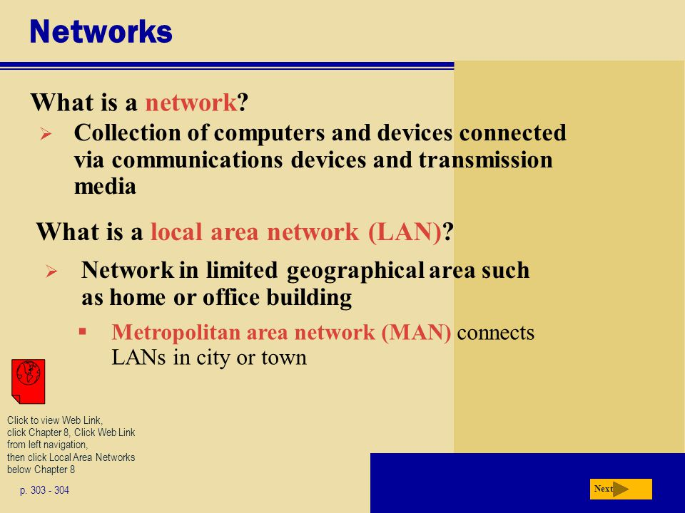 Networks What is a network What is a local area network (LAN)