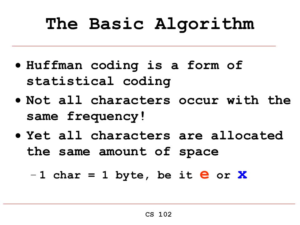 By Photo Congress || Huffman Coding Introduction