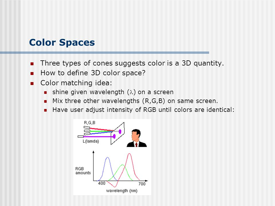 CS 4731: Computer Graphics Lecture 24: Color Science - ppt