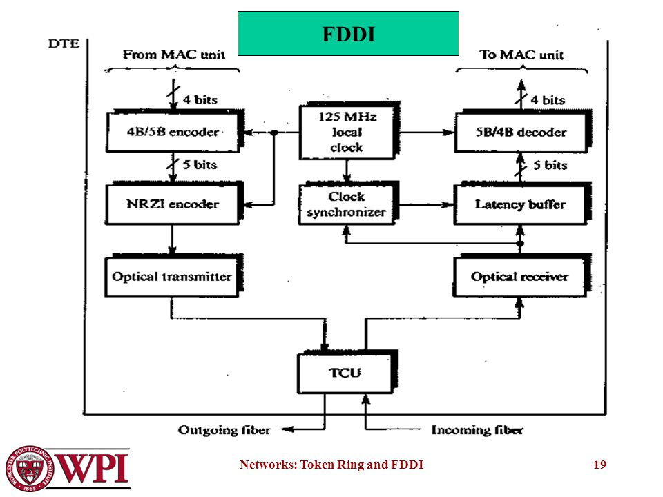 Token Ring And Fiber Distributed Data Interface Fddi Ppt Download