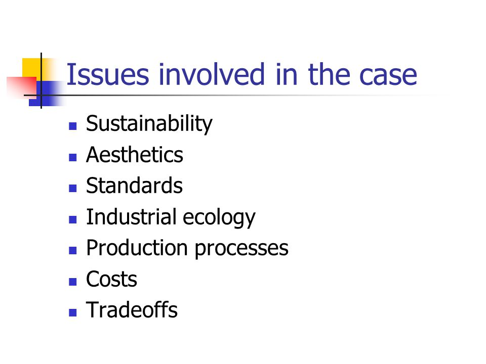 Issues involved in the case