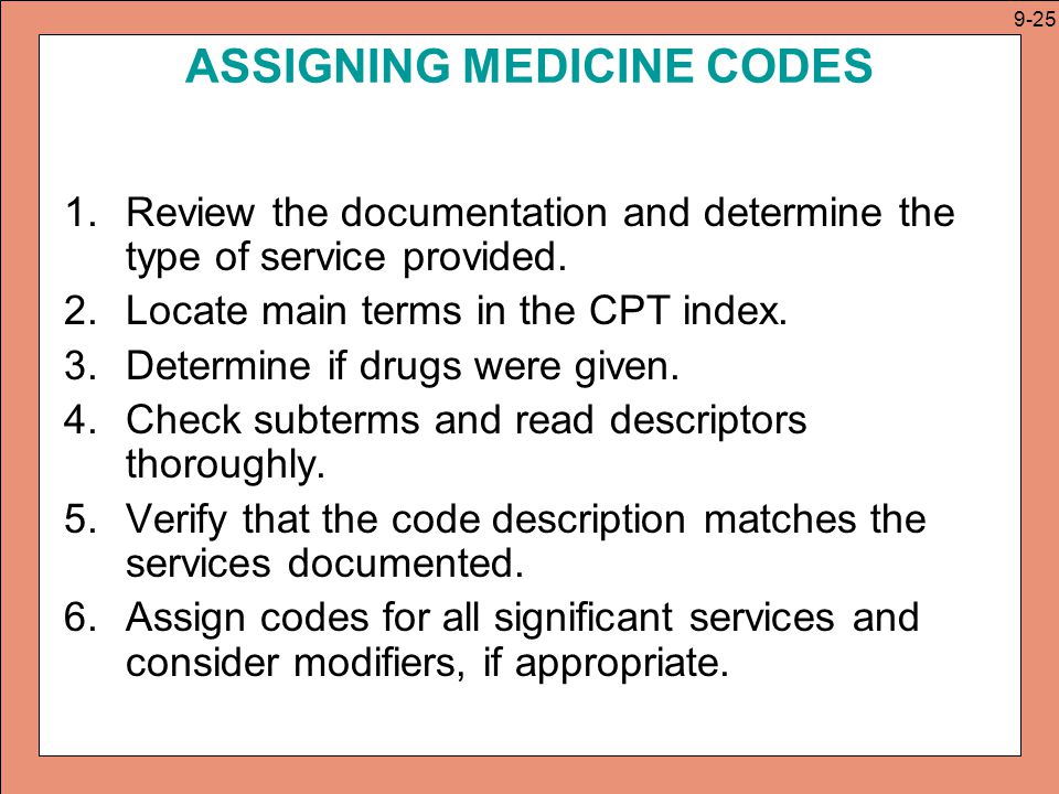 CPT: Radiology, Pathology and Laboratory, and Medicine Codes - ppt