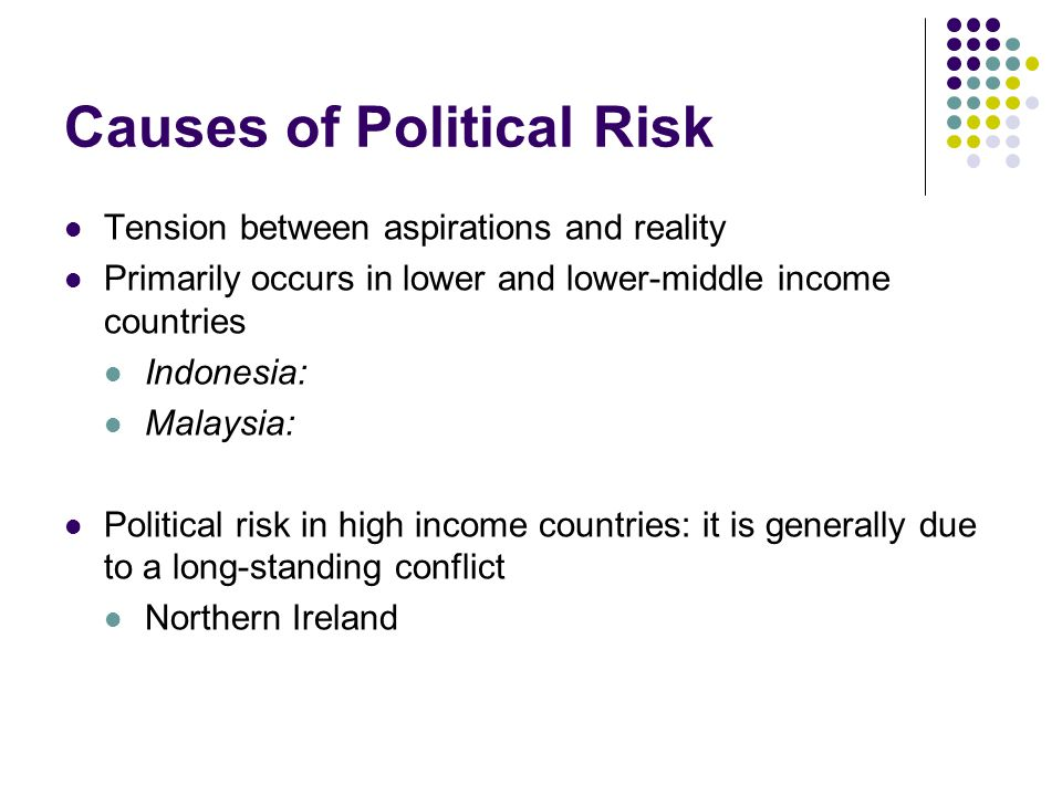 Causes of Political Risk