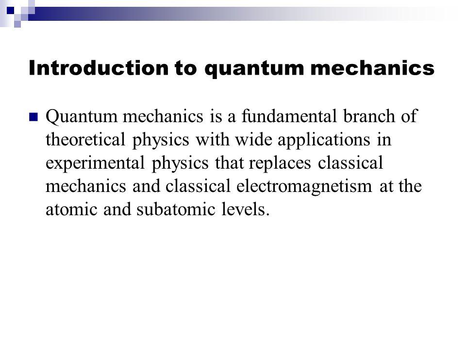 Quantum Computing Osama Awwad Department of Computer Science