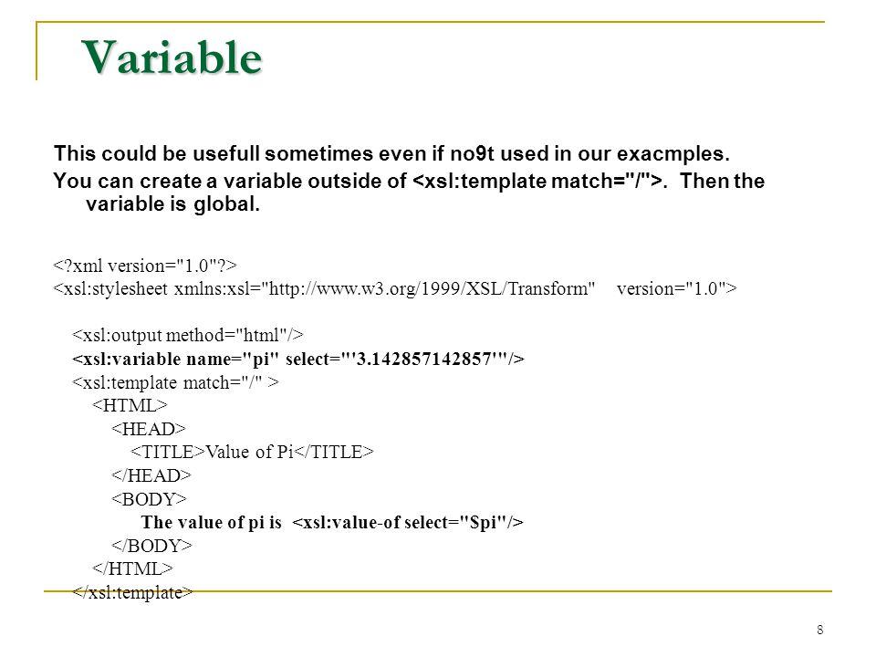 eXtensible Stylesheet Language - ppt download