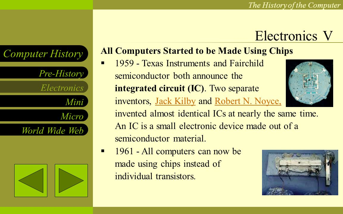 Robert Noyce Of Fairchild Coinvent The Integrated Circuit