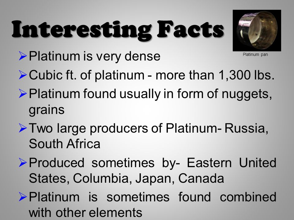 What Is Platinum By Chase Murphy Ppt Video Online Download
